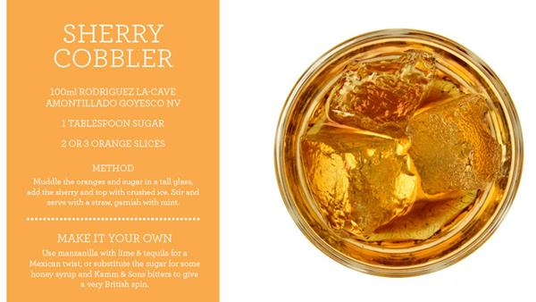 The Sherry Cobbler