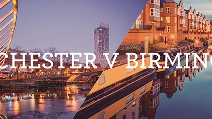 Cities Uncovered – Manchester versus Birmingham