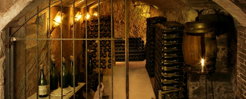 The Cava cellars at Llopart