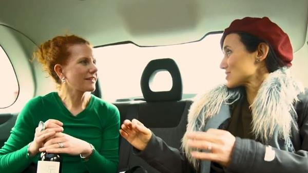 Laura Catena's London taxi tour