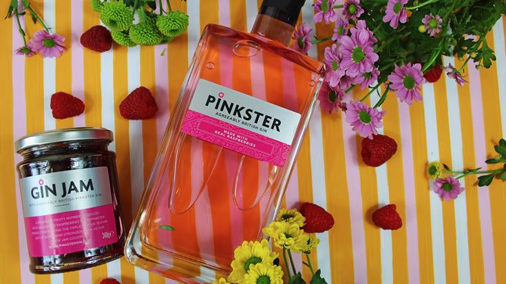Naturally pink: Pinkster keeps it real with raspberries